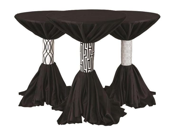 Zodiac Contrast | BBJ Linen #tablescape #bbjlinen #bbjtablefashions  #inspiration #wedding #