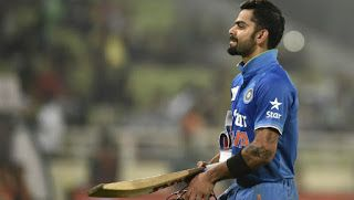 virat scored 49 runs