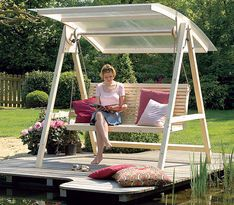25+ Best Ideas About Hollywoodschaukel Selber Bauen On Pinterest ... Hollywoodschaukel Garten Veranda