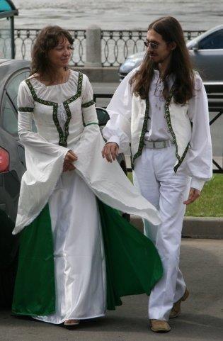 Сшить кельтское платье