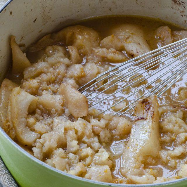 Roasted Pear and Apple Sauce - Barefoot Contessa