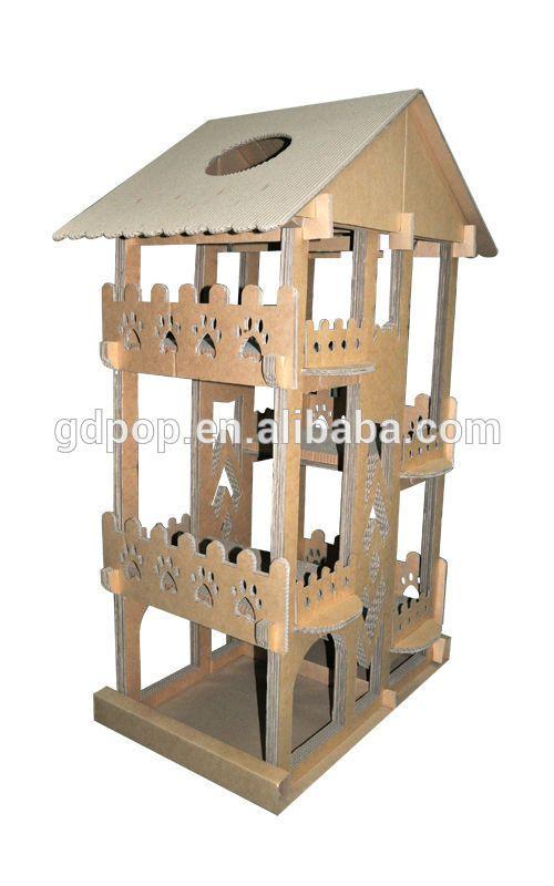 Recycler le papier b-cl288 chat, grimpeur carton, bricolage. arbre à chat-image-Cage, caisse transporteur & maison pour animaux domestiques-Id du produit:500003575657-french.alibaba.com