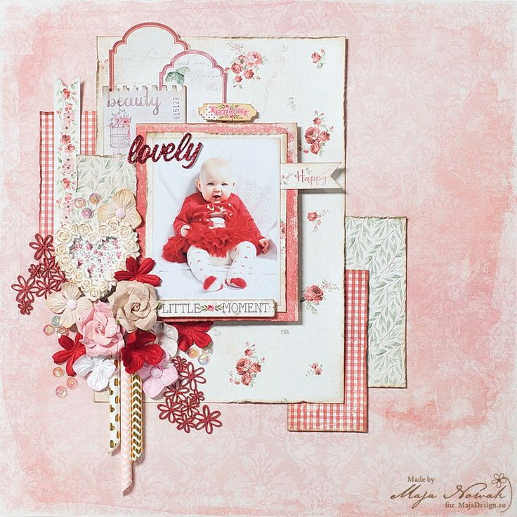 CraftHobby Oliwiaen: Lovely Princess. layout 30x30