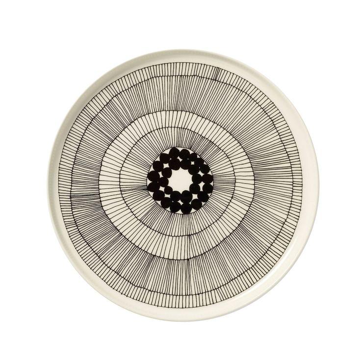 Siirtolapuutarha plate by finnish manufacturer Marimekko