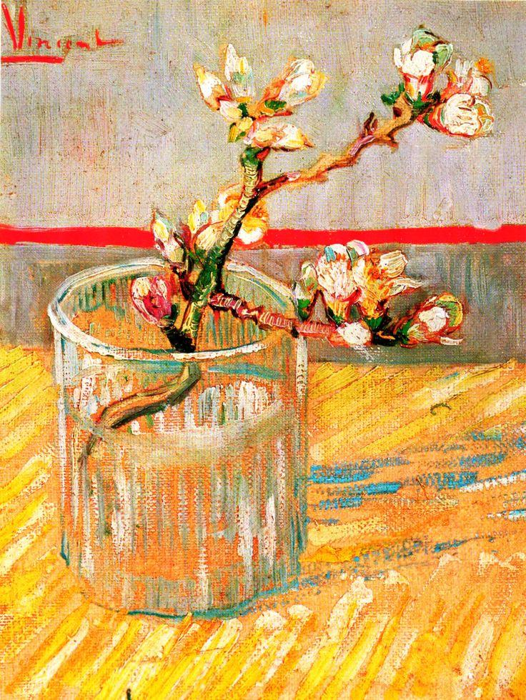 Van Gogh  Ramo di mandorlo in fiore