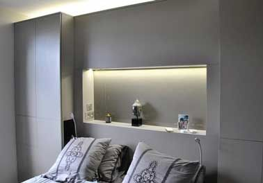 les 87 meilleures images du tableau fabriquer une t te de lit sur pinterest chambre d co. Black Bedroom Furniture Sets. Home Design Ideas