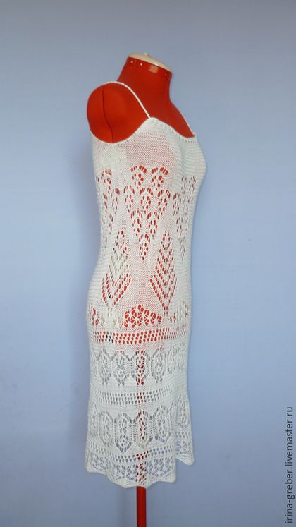 Купить или заказать Платье вязаное 'Летний снежок' в интернет-магазине на Ярмарке Мастеров. Ажурное белоснежное платье очень красиво смотрится на фоне летней зелени, подчеркнет загар, обратит на себя внимание. ******************************************************* Если Вам понравились мои работы - добавляйтесь в круг, будьте в курсе новостей!