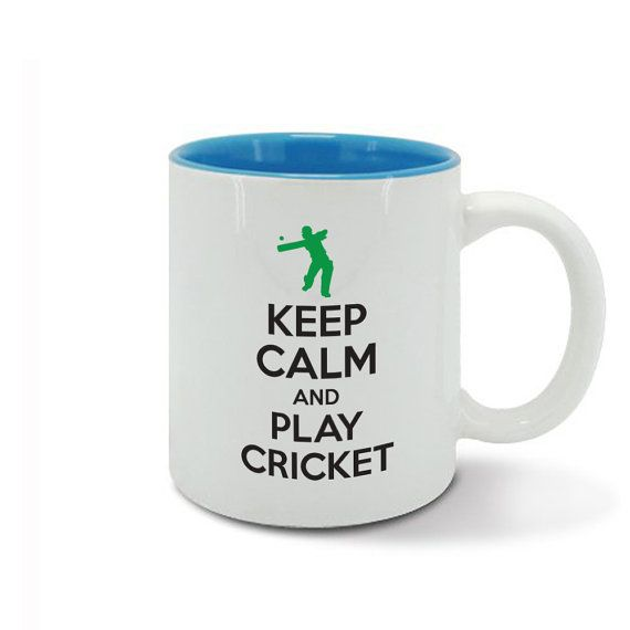 KEEP CALM and carry on play CRICKET game by davesdisco on Etsy