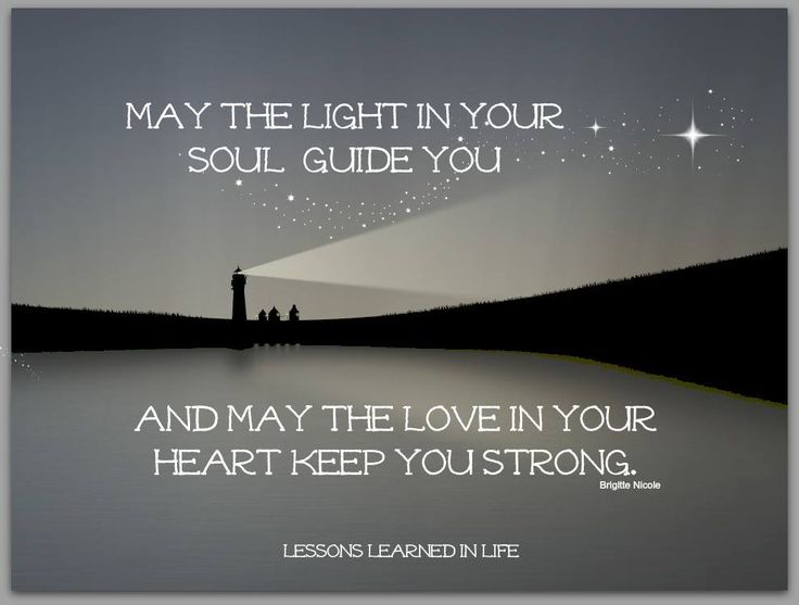 My mom loved lighthouses & this saying is so beautiful too :)