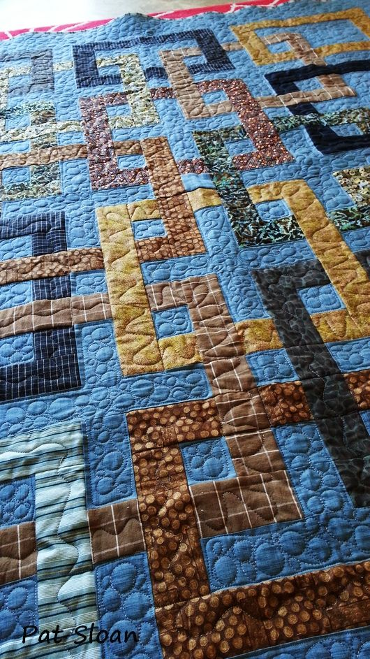 Quilting Grid Patterns : Pat Sloan Grid Quilt done 2 quilts Pinterest