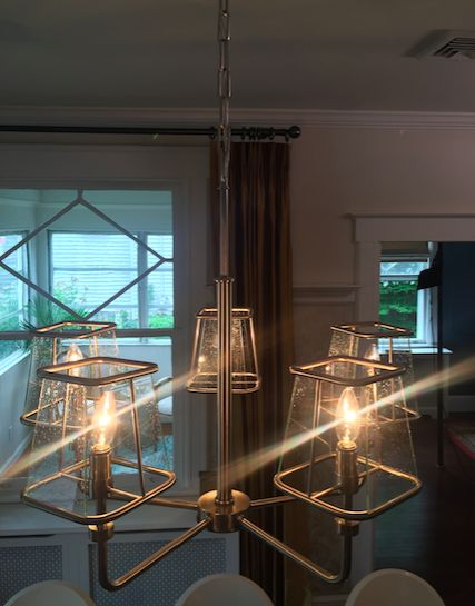 Savoy House Damascus Chandelier From Greg And Barbaras Dining Room On Property Brothers