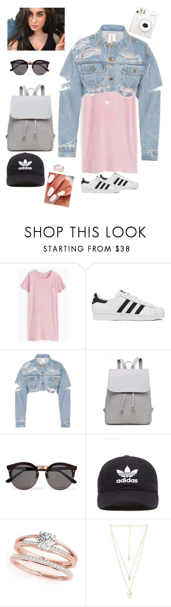 """LULU LOVE"" by lectoradelbosque on Polyvore featuring beauty, Remedios, J.Crew, adidas, Illesteva, adidas Originals and Natalie B"