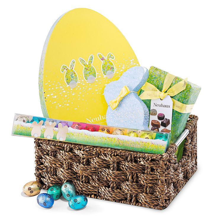 25 best easter chocolate 2017 images on pinterest belgian joyful easter morning basket negle Image collections
