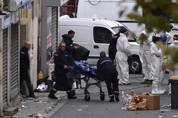 French police launched a massive raid on an apartment complex outside Paris and their target, or one of them anyway, was supposedly the alleged organizer of the Paris attacks from several days ago, the most recent of many over the past year. It is actually still unknown if the leader was killed, due to a bomb vest being detonated, killing another person and almost bringing down the building. Police are trying to ID the two dead suspects and are searching for anybody else in the rubble.