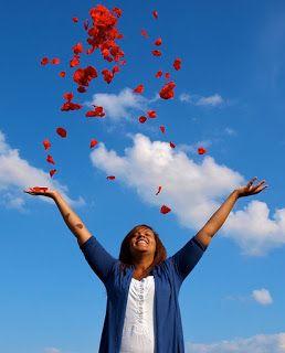 Csak könnyedén: Az élet örömmel, könnyedén ragyogva árad felém