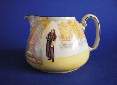 Royal Doulton Shakespeare Characters 'Shylock' Cream Jug D3596 c1912