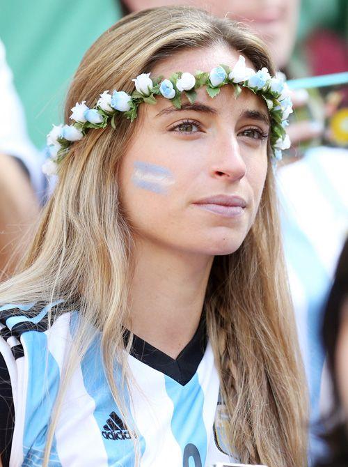 アルゼンチン美女サポーター - 美女 - 写真特集 - 日刊スポーツ新聞社のブラジルW杯特集