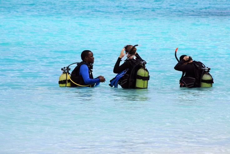 Duiken bij Zanzibar