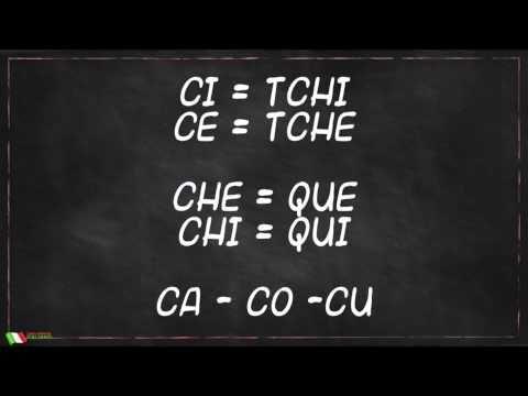 Como pronunciar em Italiano: CI, CE, CHE, CHI - Como Aprender Italiano