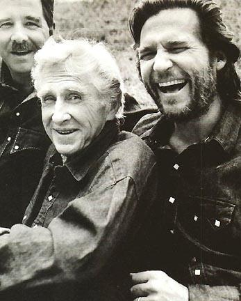 Beau,Lloyd and Jeff Bridges . .  grew up watching their dad on 'Sea Hunt' . . . have always like all three men's work.