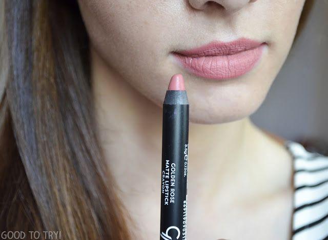 Golden Rose Matte Lipstick Crayon nr 13