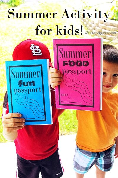 Brassy Apple: Summer FUN printables for kids