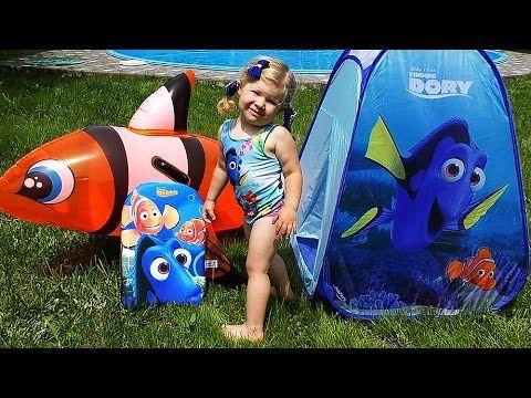 ✿ В ПОИСКАХ ДОРИ Палатка Сюрприз ДОРИ Дисней Disney Pixar Finding Dory Surprise Распаковка Игрушек    {{AutoHashTags}}