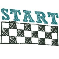 Test Preparation Milestone No. 1 - At the Start Line - To finish a journey it is important to start right. Make your study plan and practice your first 3 chapters