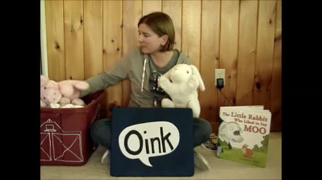 Little Rabbit Who Liked to Say Moo. Geweldig verhaal. (wel een stevig investering in handpoppen - flanelbord lijkt me eenvoudiger)  investering finansering med ndgroup.se