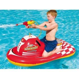 Moto hinchable con pistola de agua en http://www.tuverano.com/juegos-acuaticos-piscina/570-moto-hinchable-con-pistola-de-agua.html