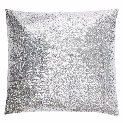 Found it at Wayfair - Glitz Synthetic Throw Pillow