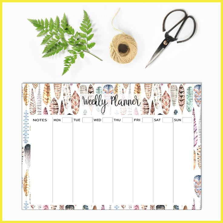 Boho - Weekly Planners to organise your life