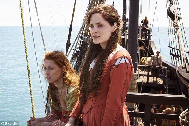 Verity Bridges (Niamh Walsh) and Alice Kett (Sophie Rundle) - Jamestown