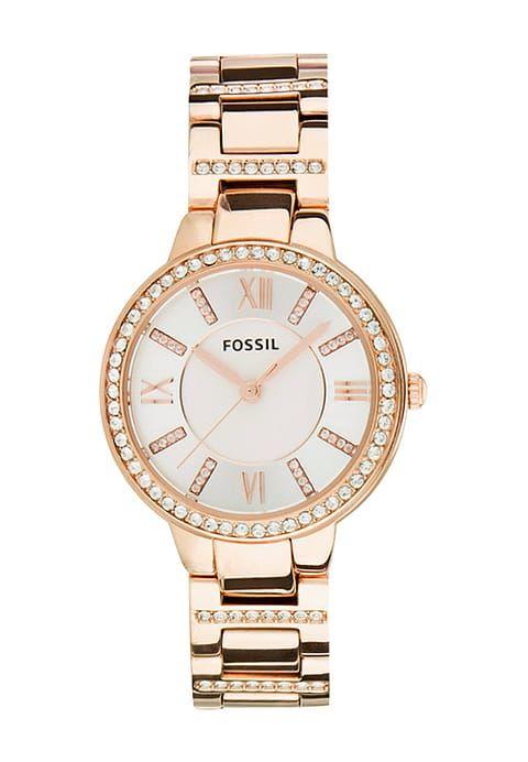 Rose goud met strass fossil horloge november happy musthaves blogger favorieten