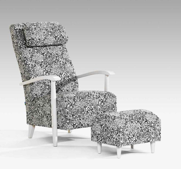 Kotimainen VALENTINO-lepotuoli matalalla tai korkealla selkänojalla. Laulumaa Huonekalut