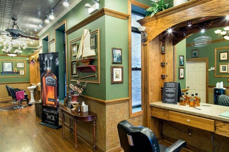 State Street Barbers of Chicago designed by Contrast Design Group