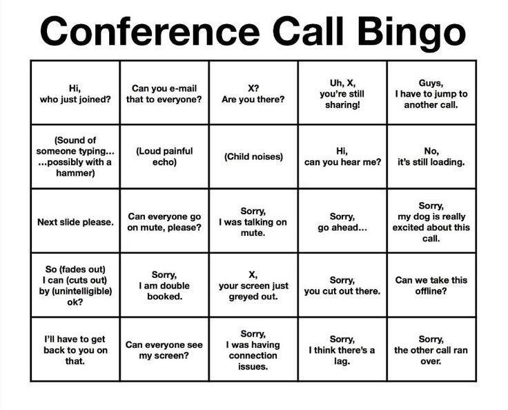#conference #conference #conference #conference #bingo