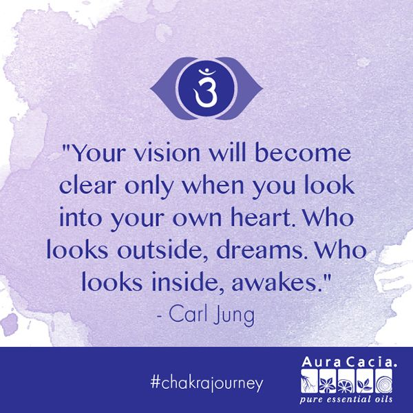 What dreams have you realized by looking into your heart? Explore the third eye chakra by clicking on the image. #chakrajourney