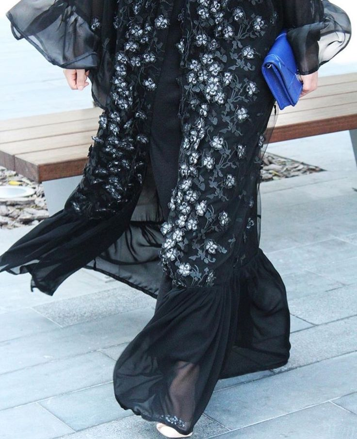 IG: Her.Concept    IG: BeautiifulinBlack    Modern Abaya Fashion   