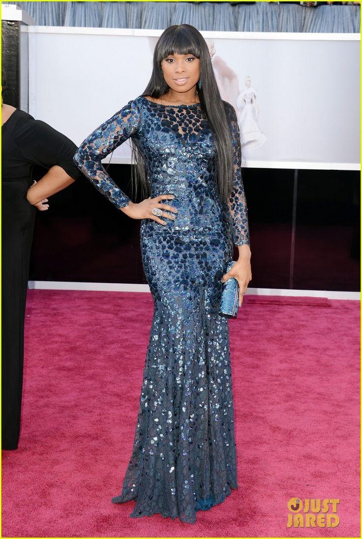 Jennifer Hudson - Oscars 2013 Red Carpet