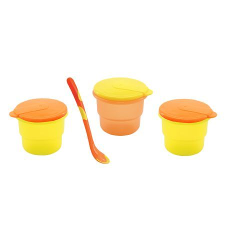 Nuby Microwavable Bowl & Spoon (3-pack) - So many great uses for these storage bowls!