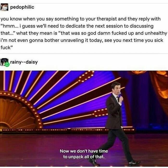 Pin By Lauren Williams On Tumblr Is My Therapist Funny Relatable Memes Humor Relatable