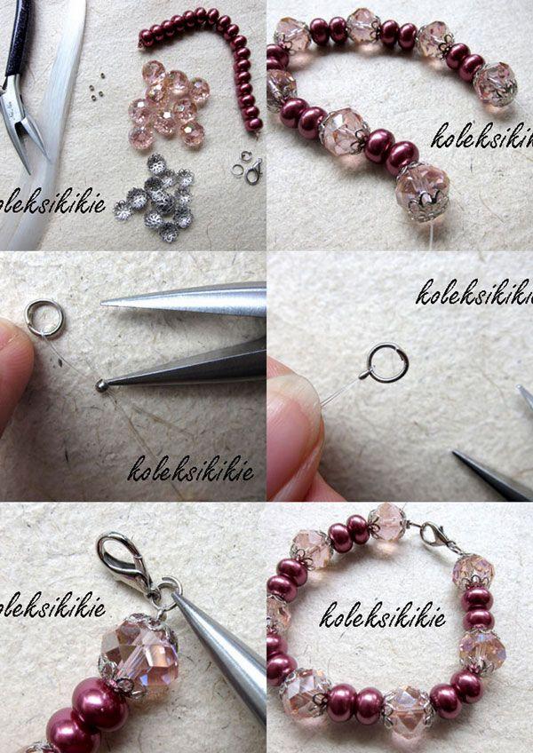 cara membuat gelang senar