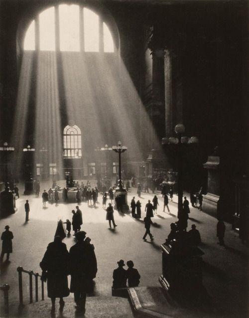 Drahomir Josef Ruzicka,  Pennsylvania Station, New York City, 1920's