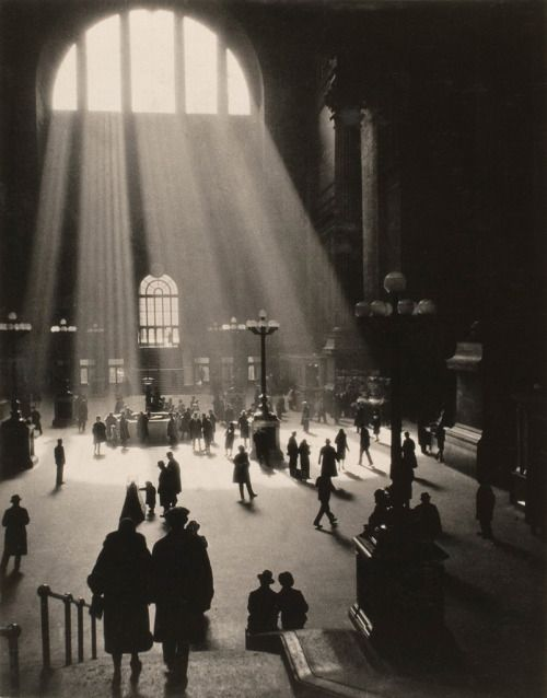 Drahomir Josef Ruzicka,  Pennsylvania Station, New York City, 1920's