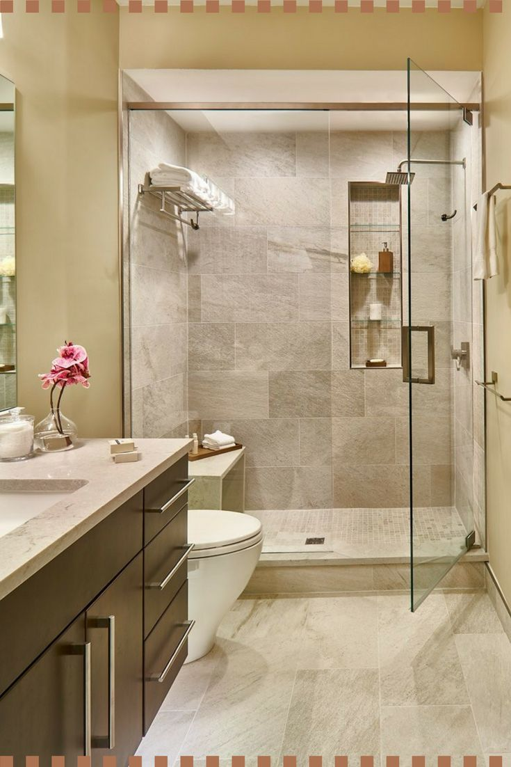 Best 25 neutral bathroom ideas on pinterest neutral - Bathroom shower designs small spaces ...