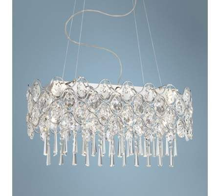 Angotti 10 light 27 3 4 wide oval crystal chandelier 55downingstreet