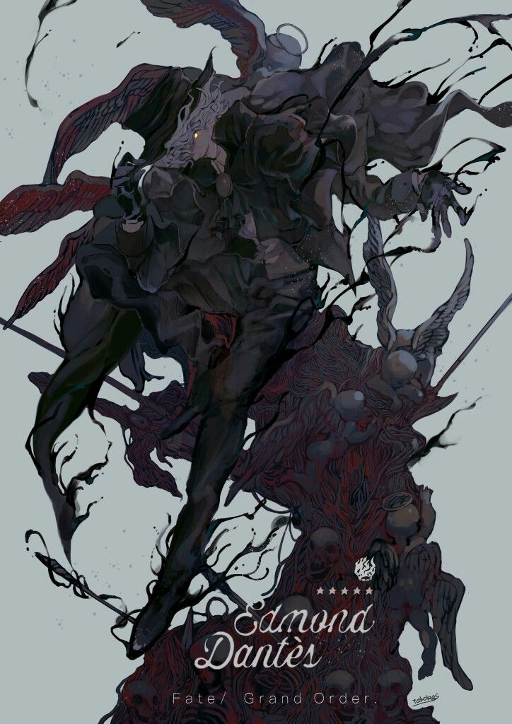Fate/Grand Order || Avenger || Edmond Dantes (Count of Monte Cristo)