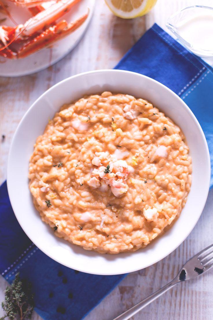 Se avete a cena un ospite desiderato, attiratelo con il profumo agrumato del risotto alla crema di scampi e conquistatelo con il suo sapore delicato! (risotto with scampi)