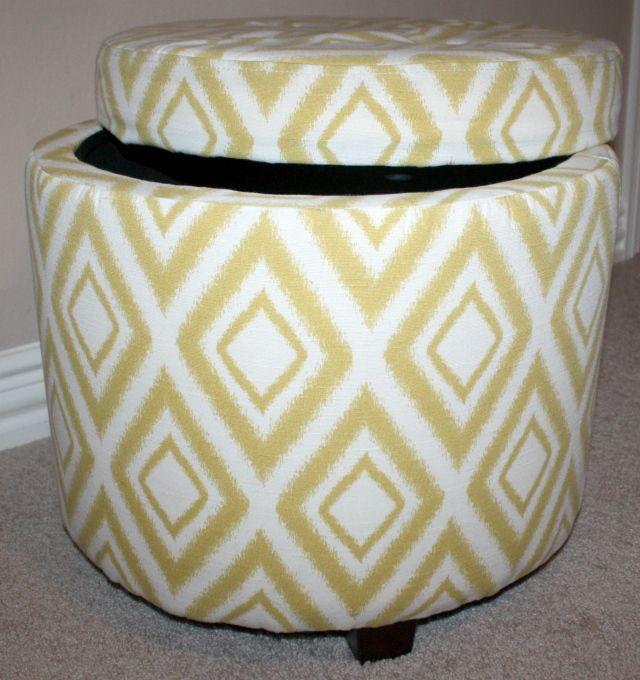 guest vanity storage stool DIY A Wall Vanity